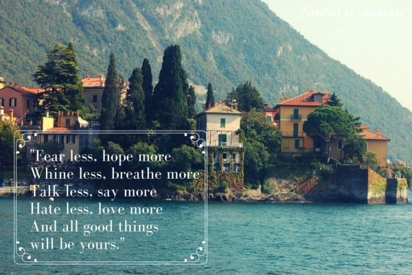 Fear less, hope more citat