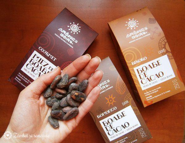 boabe de cacao crude la ce se folosesc