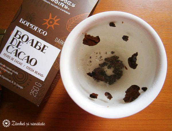 ceai din boabe de cacao