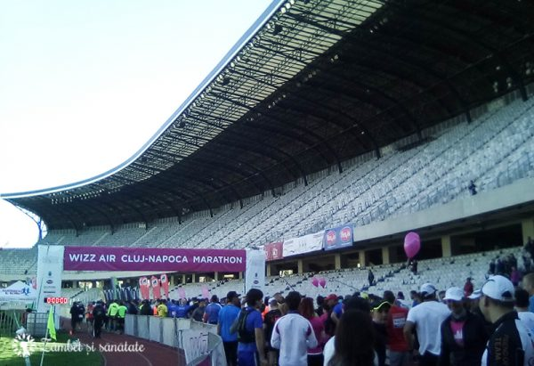 maraton cluj-napoca aprilie 2017 start