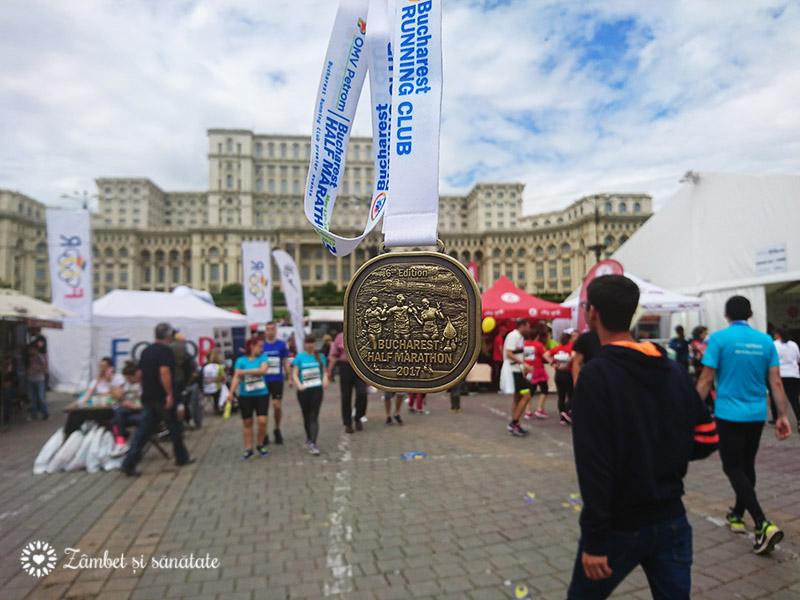 medalie semimaraton bucuresti 14 mai 2017