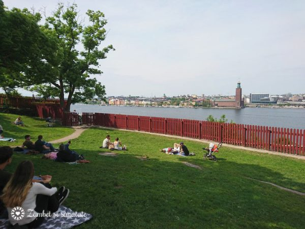 panorama parc Stockholm