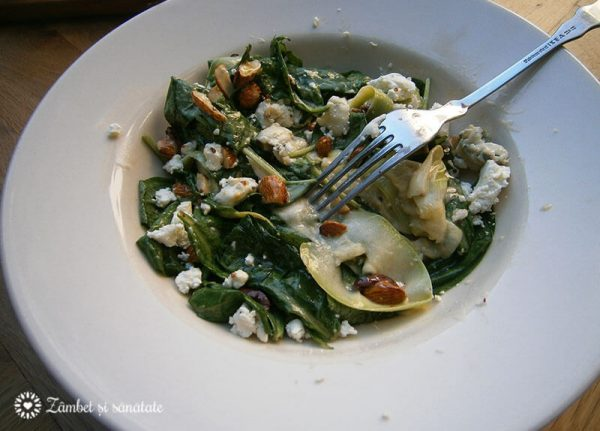 salata zucchini arome bistro si gradina