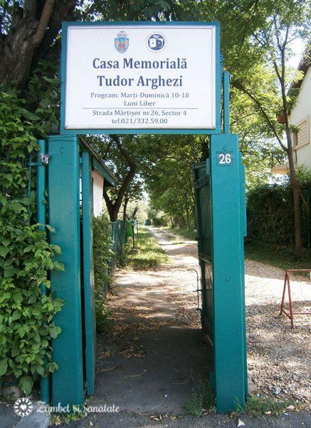 Martisor Casa Memoriala Tudor Arghezi