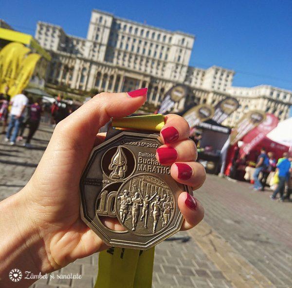 21 km pe noul traseu maraton bucuresti 2017