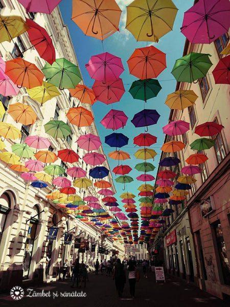 umbrele colorate timisoara 2017 mai