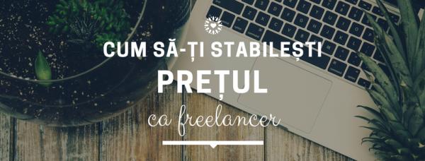 cum sa-ti stabilesti pretul ca freelancer