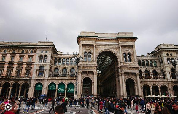 Galeria Vittorio Emanuele II milano
