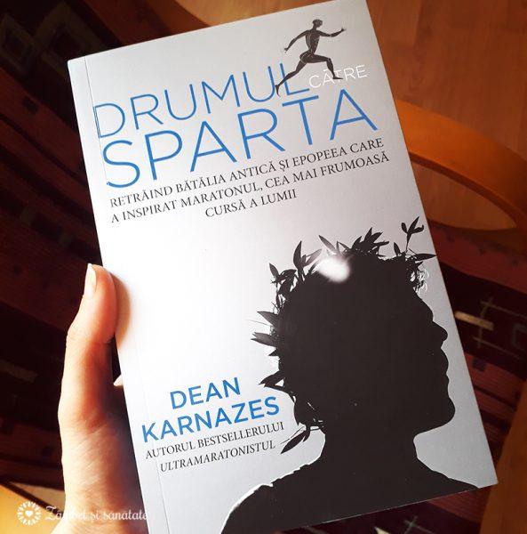 impresii carte Drumul către Sparta - Dean Karnazes