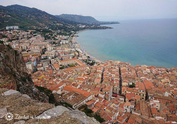 cefalu sicilia panorama
