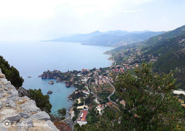 panorama la rocca cefalu sicilia