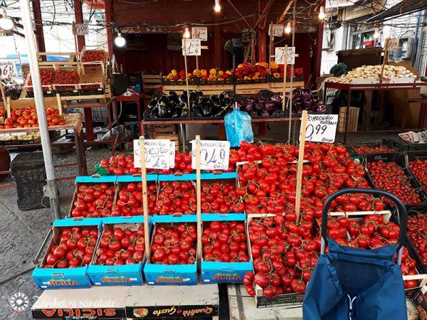 rosii la piata palermo