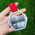Zăpadă numai bună de alergat la Brașov Marathon 2019