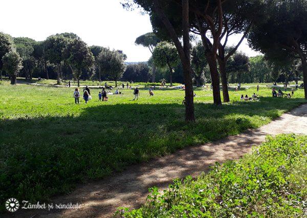Parcul Villa Doria Pamphili roma