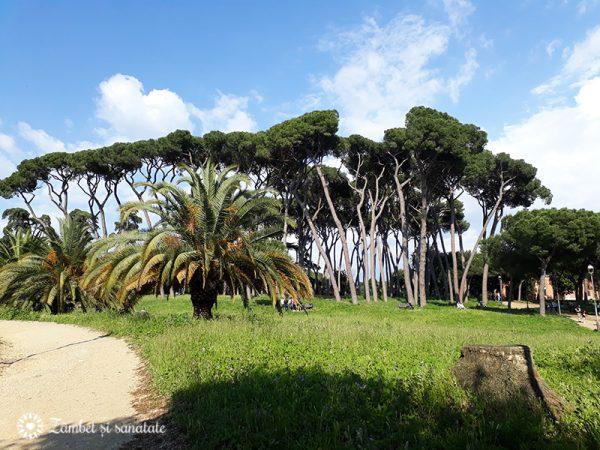 parcul Doria Pamphili Roma