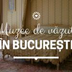 Muzee de văzut în București