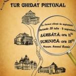 """Tur pietonal ghidat: """"Cu bastonul prin Bucureşti"""" (28 iulie – 9 septembrie 2012)"""