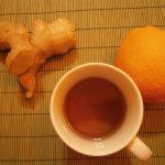 Ceai de ghimbir împotriva răcelii