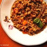 Mâncare de linte şi quinoa