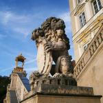 detaliu palatul nymphenburg