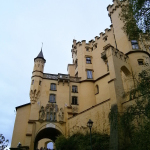 Castelul-Hohenschwangau-intrare