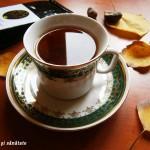 Emoţie de toamnă într-o cană cu ceai