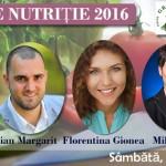 """Convenţia de nutriţie """"Iubim şi gătim"""" 2016: despre mâncare şi fericire"""