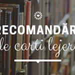 Recomandări de cărți lejere