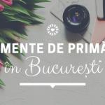 Evenimente în București – primăvara 2020